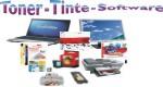 Toner-Tinte und Software
