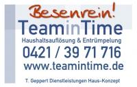 Haushaltsauflösung TeaminTime Bremen