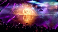 Unsere LED Feuer und Lasershow