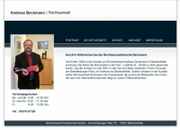 Rechtsanwalt  Beckmann Blankenfelde