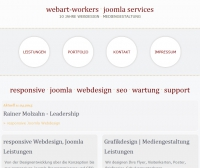 Responsive Joomla Webdesign, SEO/SEM