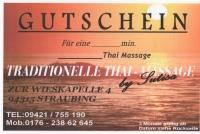 Traditionelle Thaimassage Straubing