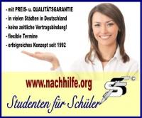 Nachhilfe, STUDENTEN FÜR SCHÜLER, Wuppertal
