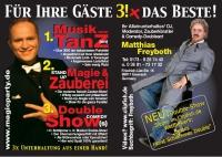 Alleinunterhalter/ DJ, Comedy-Zauberer & Parodist aus Eisenach