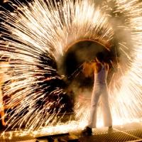 Feuershow buchen bei mosaique in Berlin