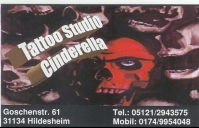 Tattoo-Studio Cinderella, Hildesheim