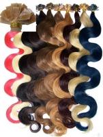 Haarverlängerung, Extensions, Echthaar