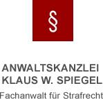 Ihr verlässlicher Partner im Strafrecht Würzburg Klaus Spiegel