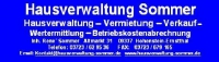 Hausverwaltung Sommer, Hohenstein-