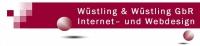 Webdesign, www.wuest-link.de