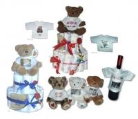 Teddybären mit Fotoshirt