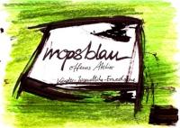 Bild mopsblau - offenes Atelier Buchholz