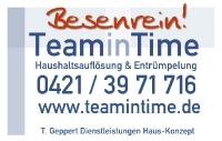Bild Haushaltsauflösung TeaminTime Bremen